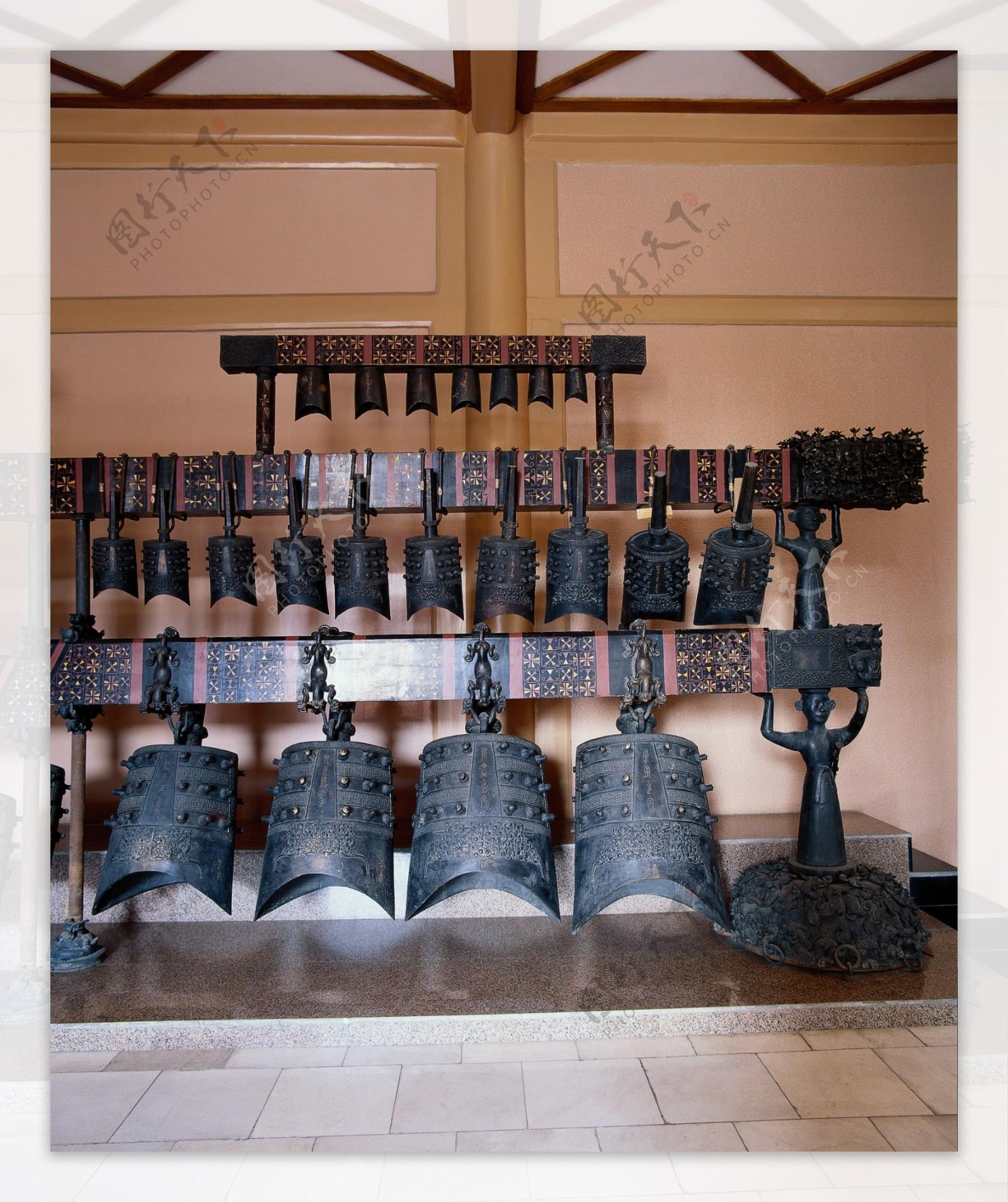 古代乐器编钟