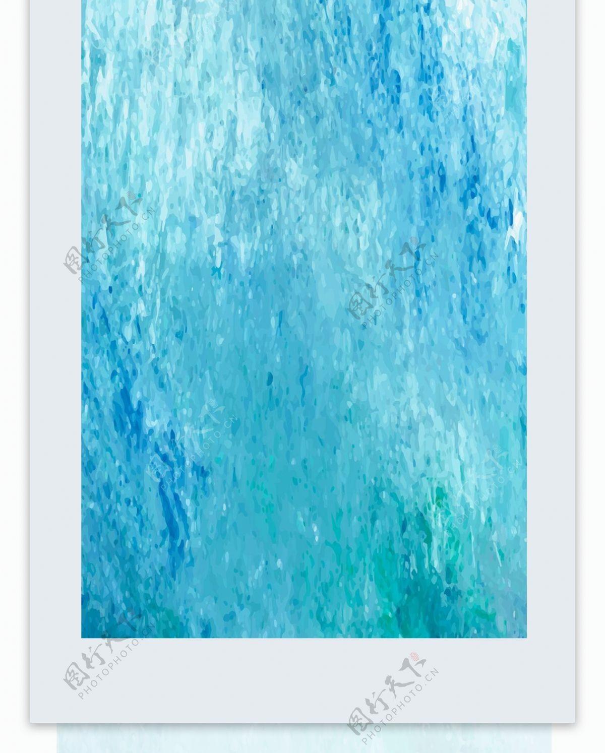 蓝色破旧磨砂刮痕冰雾样式手机壳AI格式
